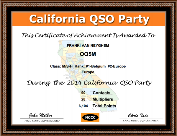 CQP2014certificate